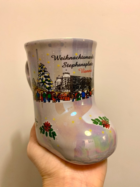 My Stephansplatz boot mug